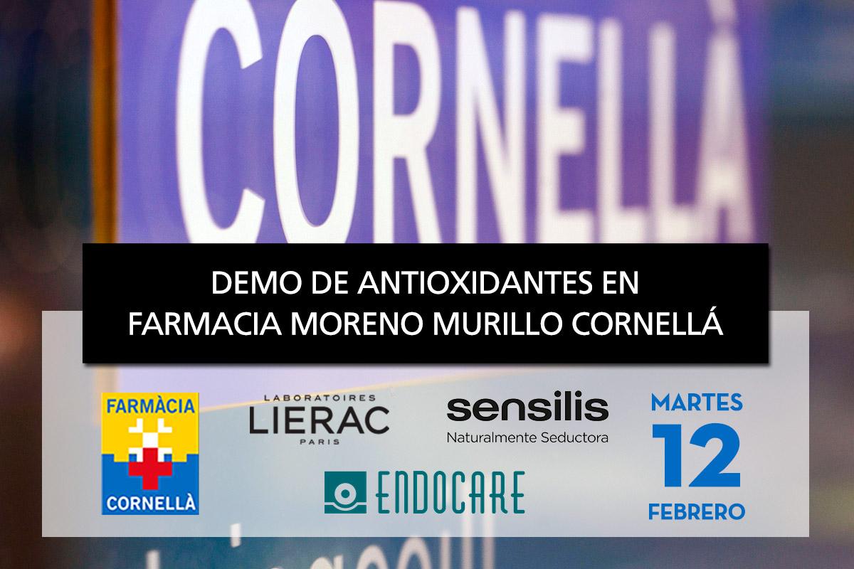 Demo antioxidantes Farmacia Moreno Murillo Cornellá