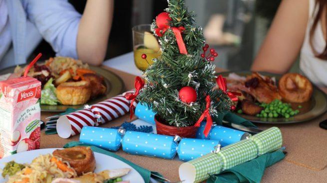 Atracones en Navidad