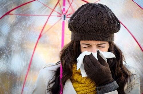 Evitar resfriados en invierno