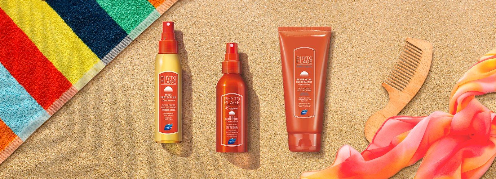 Protección solar del cabello