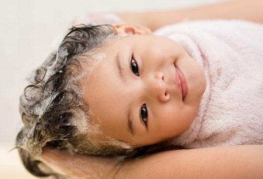 Baño en bebés